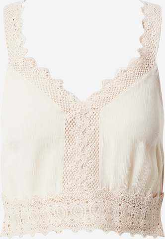 ABOUT YOU Top 'Giona' in Beige