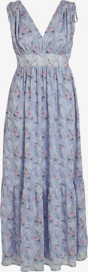 VILA Summer dress in dusty blue / grey / light pink / white, Item view