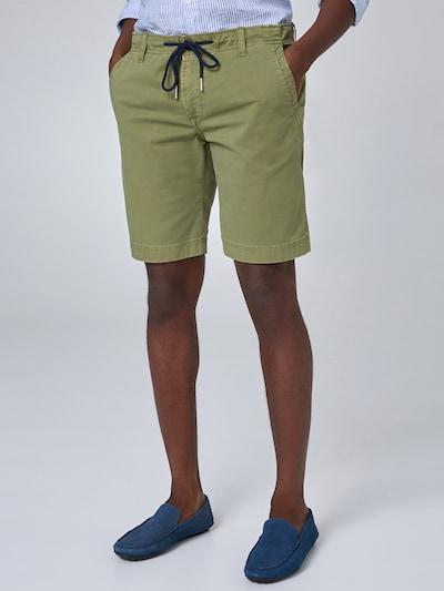 Baldessarini Pantalon 'Jamie' en vert, Vue avec modèle