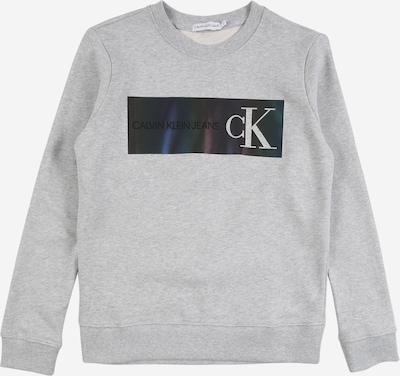 Calvin Klein Sweat en gris clair / noir, Vue avec produit