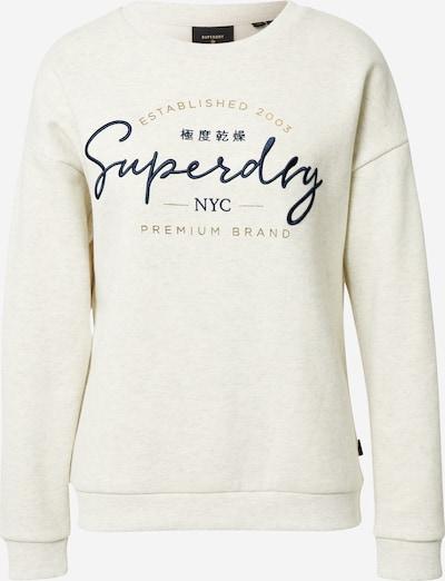 Superdry Sweat-shirt 'Established' en beige, Vue avec produit