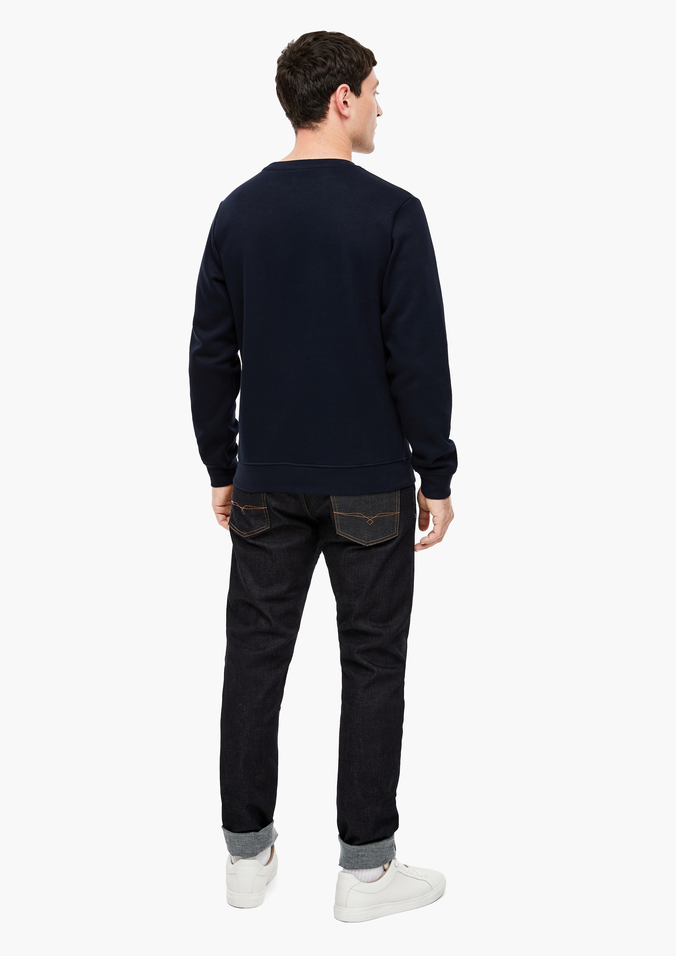 s.Oliver Sweatshirt i mörkblå