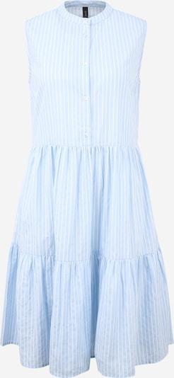 Rochie tip bluză Y.A.S Tall pe albastru fumuriu / alb, Vizualizare produs
