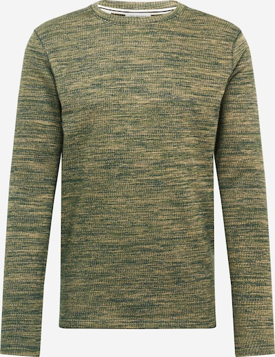 SELECTED HOMME Trui 'SLHJAY' in de kleur Olijfgroen / Donkergroen, Productweergave