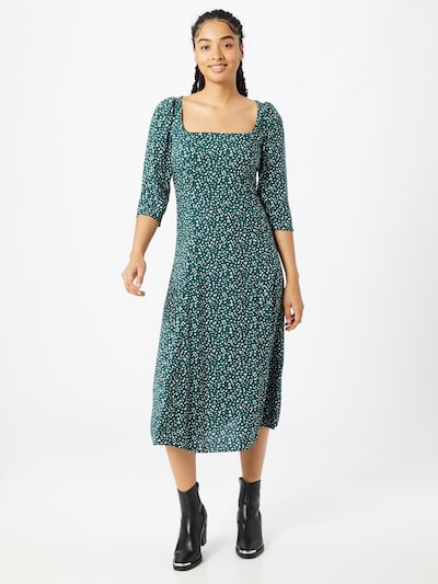 Dorothy Perkins Kleid in petrol / weiß, Modelansicht