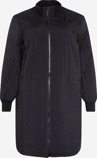Zizzi Prijelazna jakna 'CADDY' u crna, Pregled proizvoda