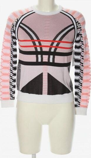 Gianni Versace Strickpullover in XS in pink / schwarz / weiß, Produktansicht