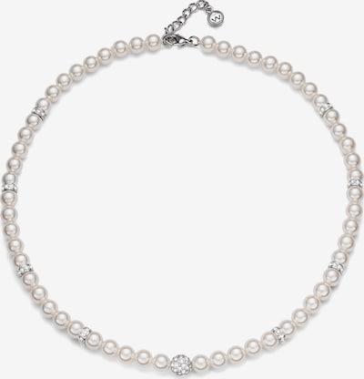 Oliver Weber Ketting 'Silk Perle' in de kleur Wit, Productweergave