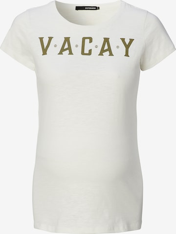 Supermom Shirt 'Vacay' in White
