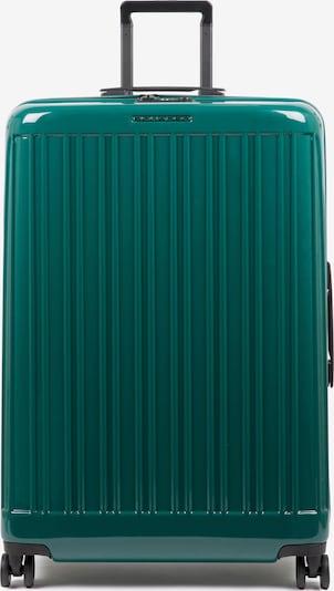 Piquadro Trolley in grün, Produktansicht