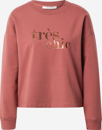 Sweat-shirt 'Samira' ABOUT YOU en rose