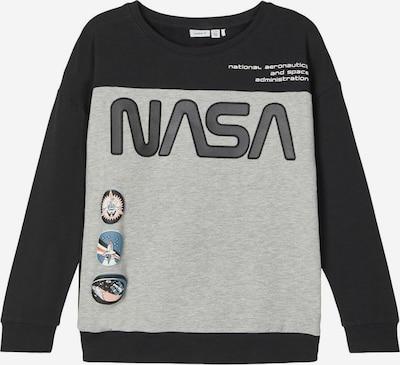 NAME IT Sweatshirt 'Nasa' in mischfarben / schwarz, Produktansicht