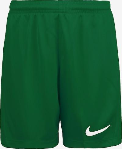 NIKE Sporthose 'Dry Park III' in grasgrün / weiß, Produktansicht