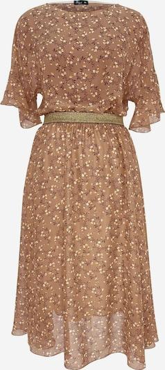 Wisell Kleid in braun / gelb / weiß, Produktansicht
