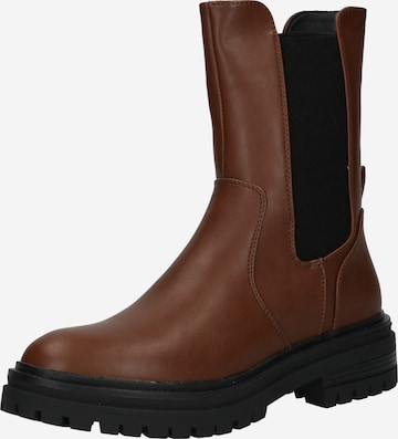 ABOUT YOU Chelsea Boots 'Chantal' in Brown