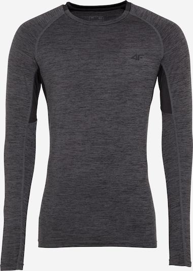 Sportiniai marškinėliai iš 4F , spalva - tamsiai pilka / juoda, Prekių apžvalga