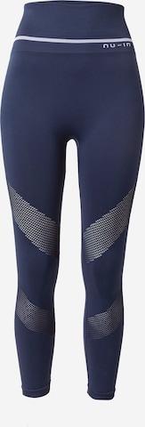 NU-IN Spodnie sportowe w kolorze niebieski