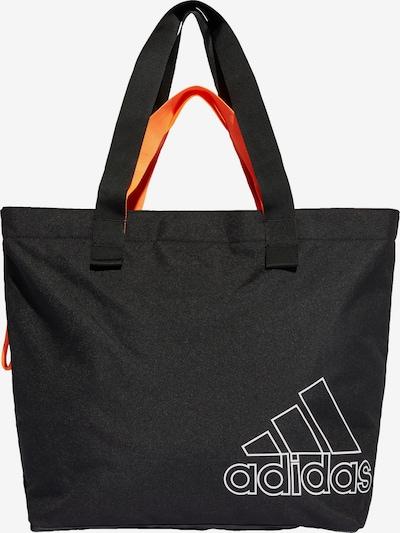 ADIDAS PERFORMANCE Sporttas in de kleur Zwart / Wit, Productweergave