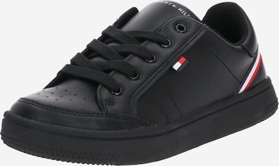 TOMMY HILFIGER Sneaker in rot / schwarz / weiß, Produktansicht