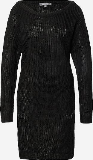 Missguided Úpletové šaty - černá, Produkt