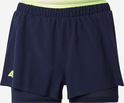 4F Sportske hlače u mornarsko plava / svijetlozelena, Pregled proizvoda