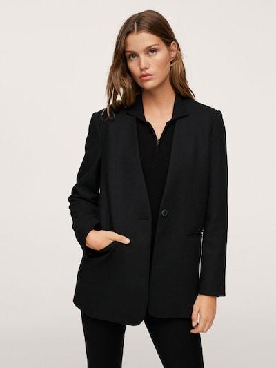 MANGO Blazer 'BO' in schwarz, Modelansicht