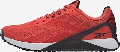 Reebok Sport Sportschuh in rot / schwarz, Produktansicht