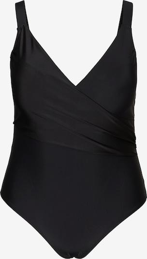 Vero Moda Curve Badeanzug 'CHARLIE' in schwarz, Produktansicht