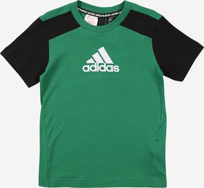 ADIDAS PERFORMANCE Sport-Shirt in grün / schwarz / weiß, Produktansicht