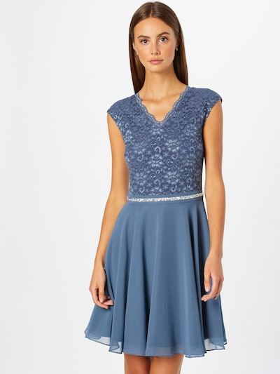 SWING Cocktail Dress in Dark blue, View model