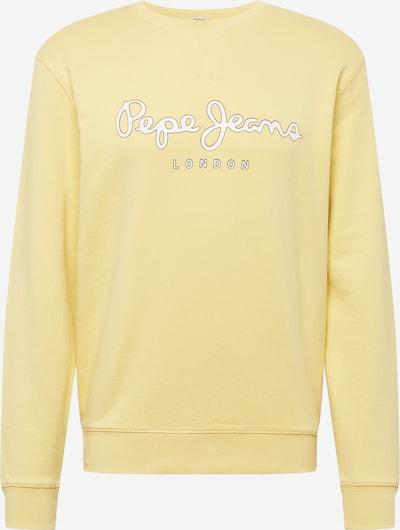 Pepe Jeans Collegepaita 'GEORGE' värissä keltainen / valkoinen, Tuotenäkymä