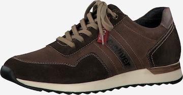 s.Oliver Sneaker in Braun