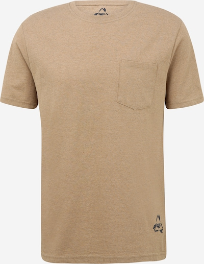 HI-TEC T-Shirt fonctionnel en beige chiné / marine, Vue avec produit