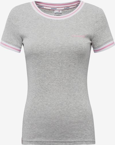 KangaROOS T-Shirt in hellgrau / pink, Produktansicht