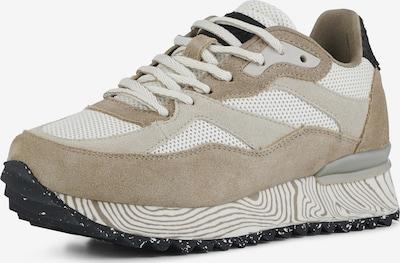 WODEN Sneaker in beige / braun / weiß, Produktansicht