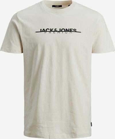 JACK & JONES Shirt in Beige / Black, Item view