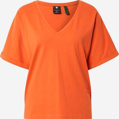G-Star RAW Тениска 'Joosa' в тъмнооранжево, Преглед на продукта