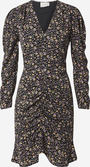 Neo Noir Kleid  'Funda' in beige / grün / lila / schwarz, Produktansicht