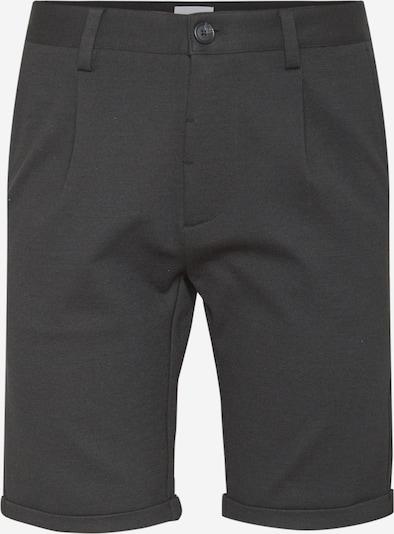 Lindbergh Kalhoty se sklady v pase - černý melír, Produkt