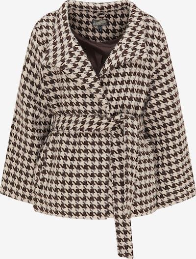 Cappotto di mezza stagione DreiMaster Vintage di colore beige / marrone / bianco, Visualizzazione prodotti