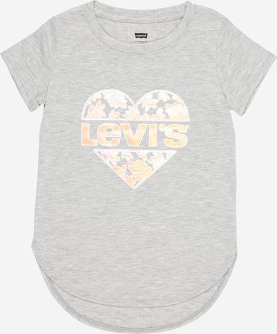 LEVI'S T-Shirt in hellblau / graumeliert / hellorange, Produktansicht