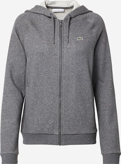 LACOSTE Sweat jacket in grey mottled, Item view