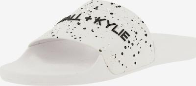 Kendall & Kylie Muiltjes 'Elia' in de kleur Zwart / Wit, Productweergave