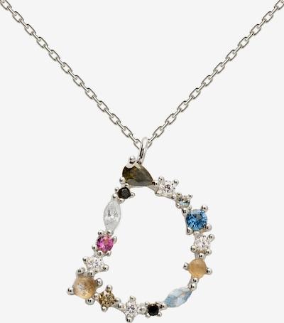 P D PAOLA Halsband i silver, Produktvy
