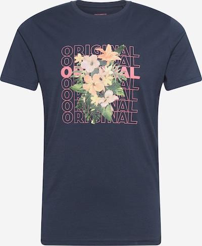 Maglietta SHINE ORIGINAL di colore blu scuro / verde / arancione / rosa, Visualizzazione prodotti