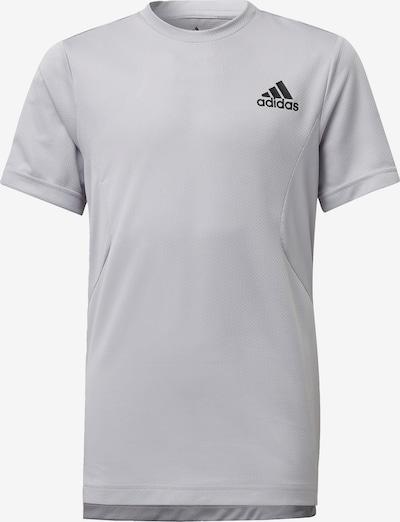 ADIDAS PERFORMANCE Trainingsshirt in grau / schwarz / weiß, Produktansicht