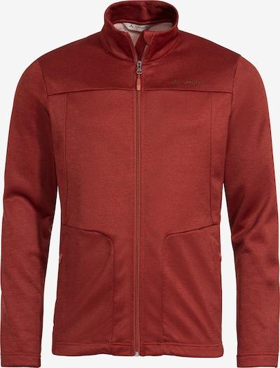 VAUDE Athletic Fleece Jacket 'Valua FL J II' in Blood red, Item view