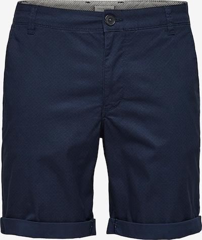SELECTED HOMME Shorts 'Paris' in dunkelblau / dunkelgrau, Produktansicht