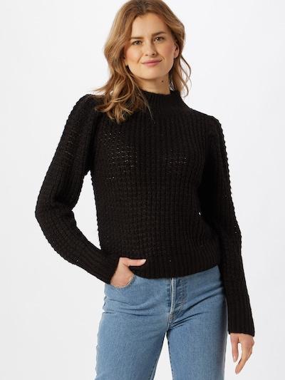 OBJECT Pullover in schwarz, Modelansicht
