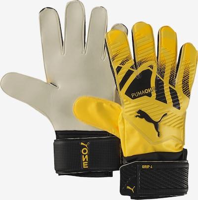 PUMA Handschuh in gelb / schwarz, Produktansicht